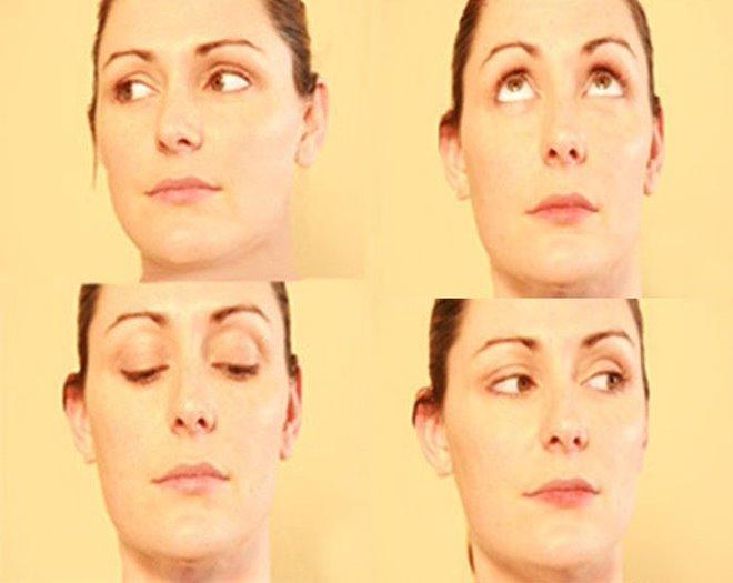 Xoay tròn mắt là bài tập mắt giúp ngăn ngừa đục thủy tinh thể hiệu quả